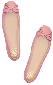 Tory Burch Laila Ballet Leather Pink Flats