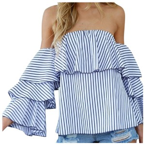 Other Top Blue & White
