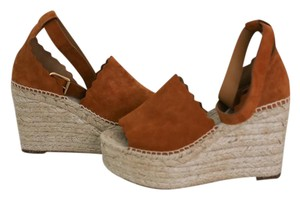 Chlo Chloe Sandal Lauren Tan Wedges