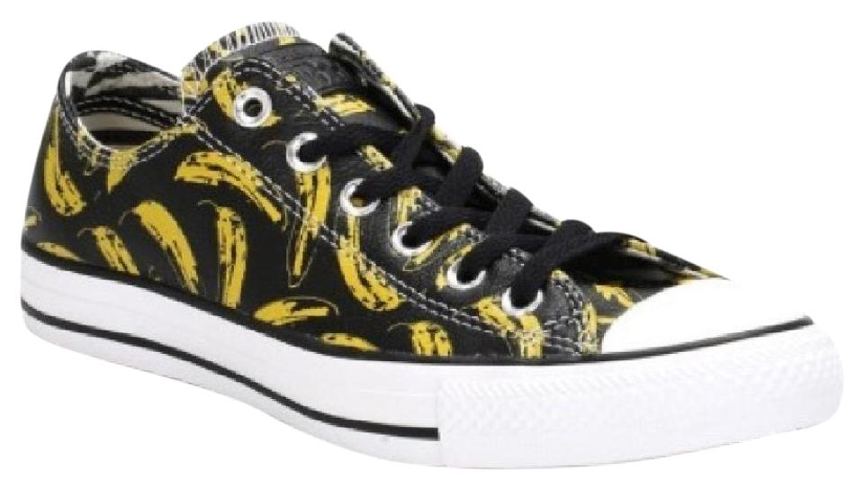 Converse All Black Men's Limited Edition Andy Warhol All Converse Star Low Trainers Sneakers dffcfb