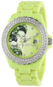 Ed Hardy Ed Hardy Female Dress Watch RX-LG Green Analog