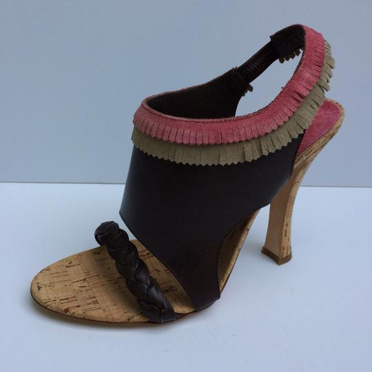 Alberta Ferretti Brown Sandals Image 1