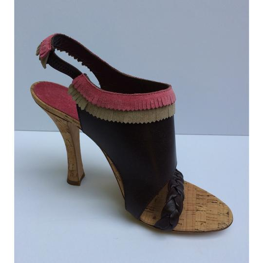 Alberta Ferretti Brown Sandals Image 2