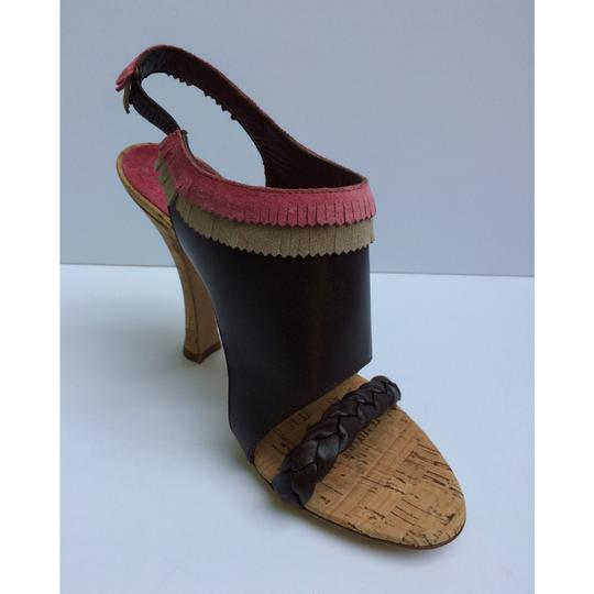 Alberta Ferretti Brown Sandals Image 3