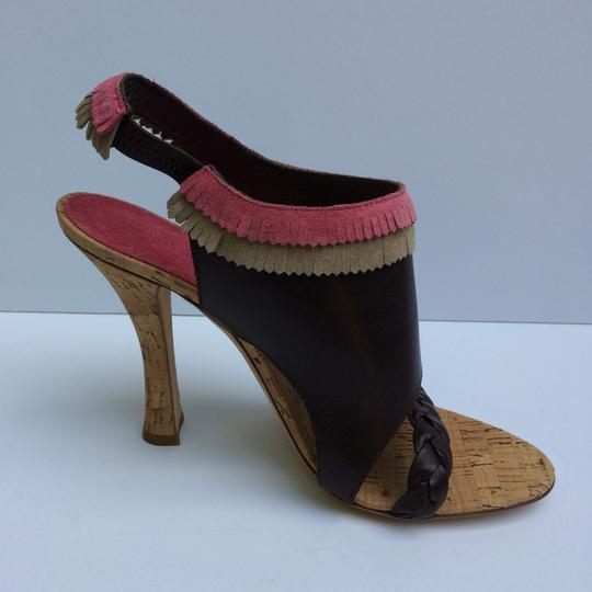 Alberta Ferretti Brown Sandals Image 5