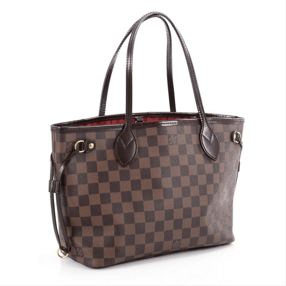 louis vuitton neverfull damier pm tote bag on sale 13 off totes on sale. Black Bedroom Furniture Sets. Home Design Ideas