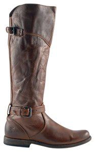 Frye Leather Riding Knee COGNAC Boots