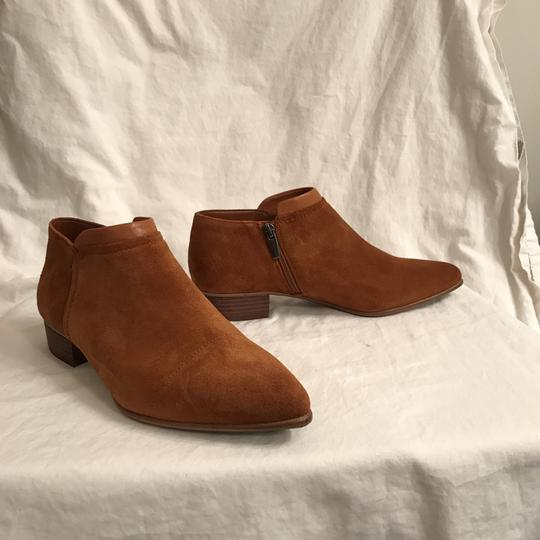 Vince Camuto Ankle Suede Leather Comfortable Brown Boots Image 3