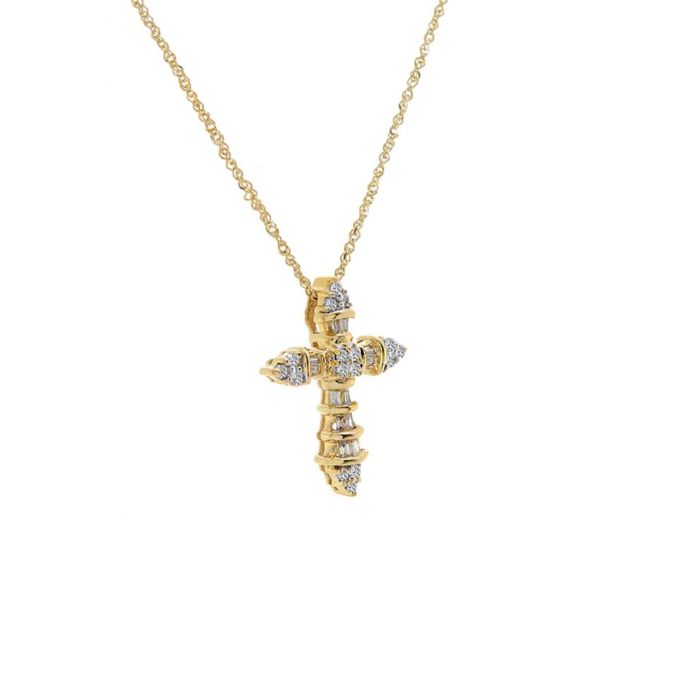 ileanamakri diamond pendant baguette thread products fine