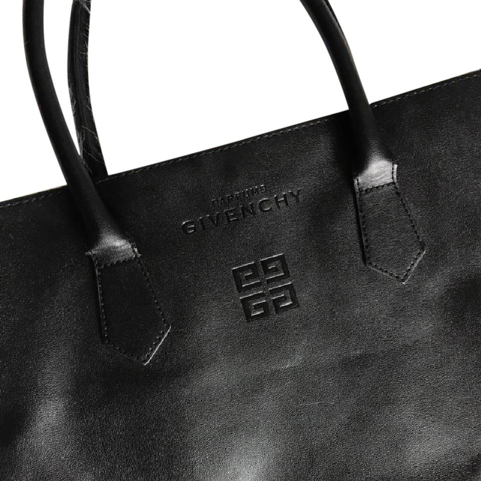 Faux Parfums Leather Tote Givenchy Bag Black Y7ybvf6g