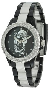 Ed Hardy Ed Hardy Female Vixen Watch VX-BK Black Analog