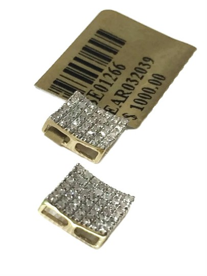 Others 10 K Yellow Gold Diamond Earring for Women Image 3