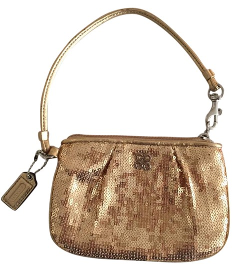 Preload https://img-static.tradesy.com/item/21748156/coach-gold-sequins-wristlet-0-1-540-540.jpg