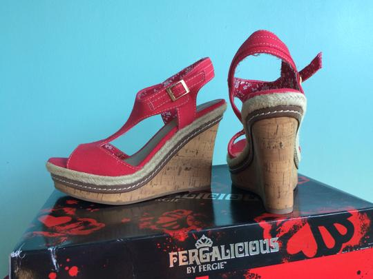Fergalicious by Fergie Red Sandals