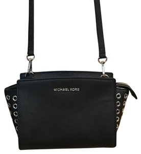 MICHAEL Michael Kors Grommet Leather Cross Body Bag
