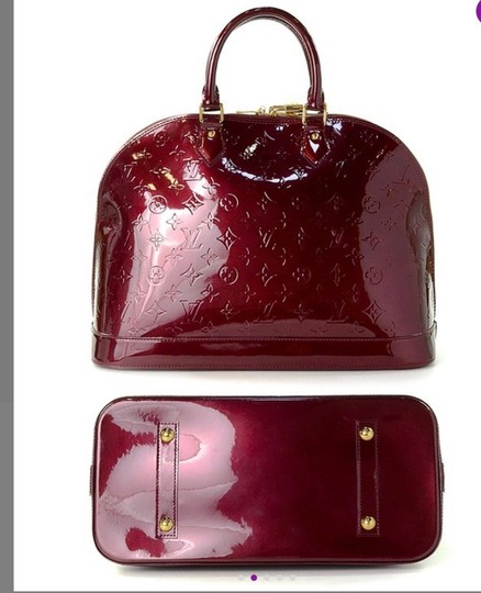 Louis Vuitton Tote in Rouge Fauviste Image 6