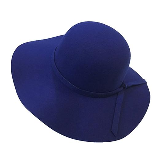 Preload https://img-static.tradesy.com/item/21748591/blue-wool-felt-crushable-wide-brim-fedora-floppy-hat-0-0-540-540.jpg