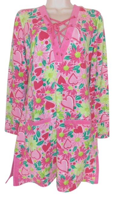 Preload https://img-static.tradesy.com/item/21748647/lilly-pulitzer-pink-terry-irene-phipps-lucky-in-love-tunic-size-2-xs-0-1-650-650.jpg