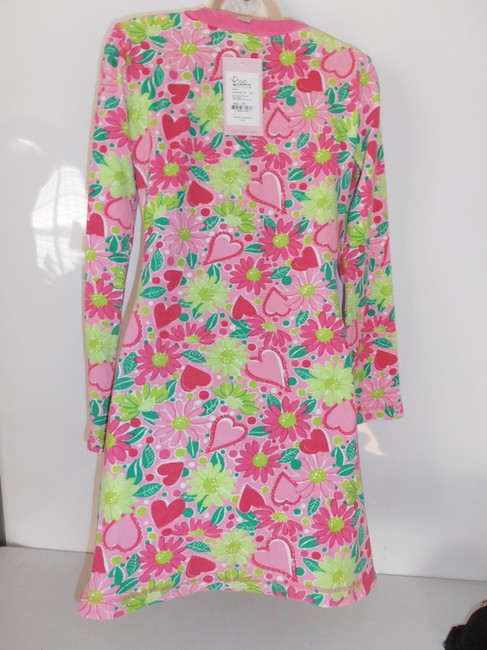 Lilly Pulitzer 3/4 Sleeve Cover Up Terry Cloth New With Tag Tunic Image 1