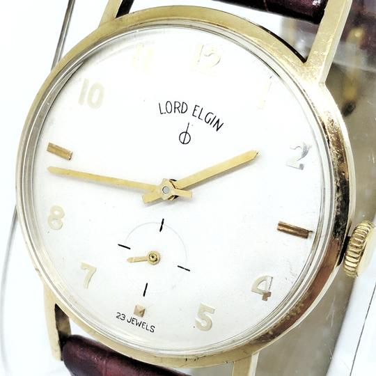 Lord Elgin Lord Elgin 10K Gold 1950's Manual Wind Wrist Watch Image 1