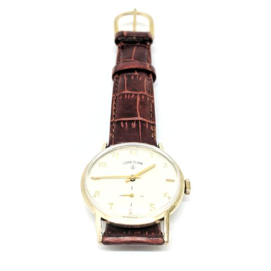 Lord Elgin Lord Elgin 10K Gold 1950's Manual Wind Wrist Watch Image 5