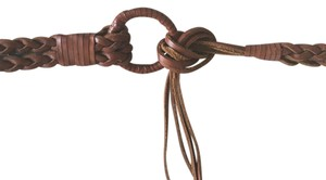 Banana Republic Braided Tie Leather Belt