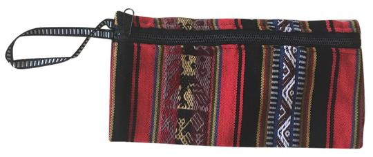 Preload https://img-static.tradesy.com/item/21748875/urban-outfitters-woven-red-black-cotton-wristlet-0-1-540-540.jpg