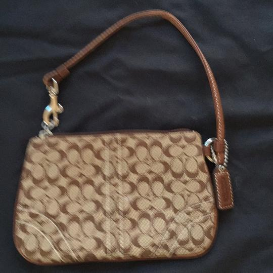 Coach Wristlet in Brown s Image 1