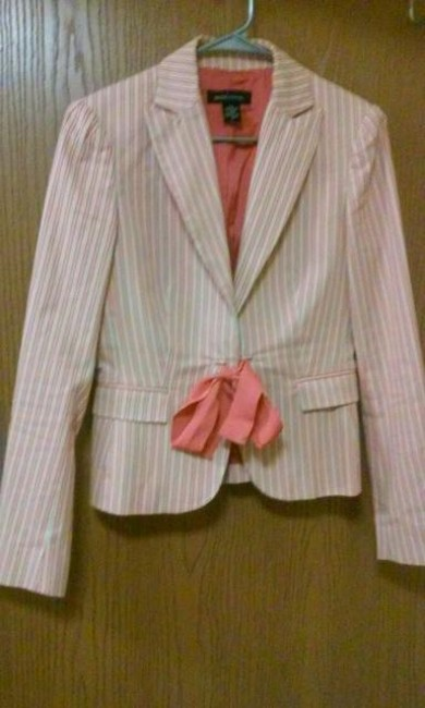 Moda International pink, beige, green Blazer