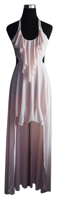 Preload https://img-static.tradesy.com/item/21749205/lisa-nieves-blush-pink-jersey-maxi-with-ruffles-formal-dress-size-6-s-0-1-650-650.jpg