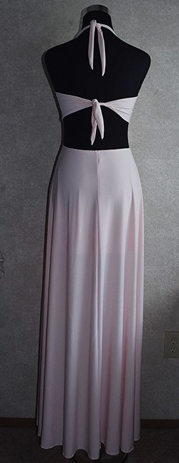 Lisa Nieves Prom Jersey Maxi Stretch Dress Image 1