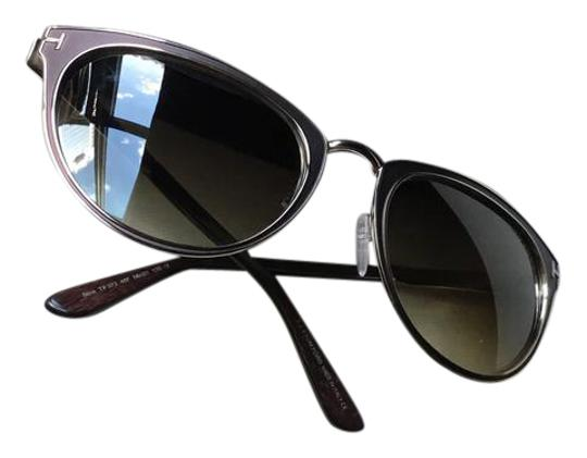 Preload https://img-static.tradesy.com/item/21749230/tom-ford-brown-with-gold-trimmed-accents-cateyed-ft0373-sunglasses-0-1-540-540.jpg