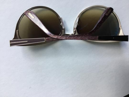 Tom Ford Tom Ford Cateyed Brown Sunglasses FT0373 Image 5