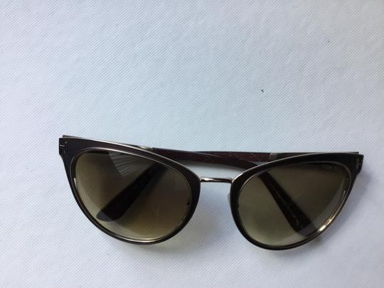 Tom Ford Tom Ford Cateyed Brown Sunglasses FT0373 Image 6