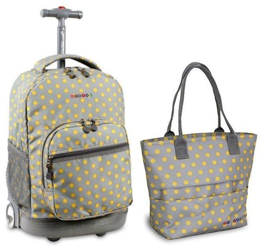 Preload https://img-static.tradesy.com/item/21749246/sunrise-18-rolling-lola-lunch-tote-set-candy-buttons-backpack-0-0-540-540.jpg