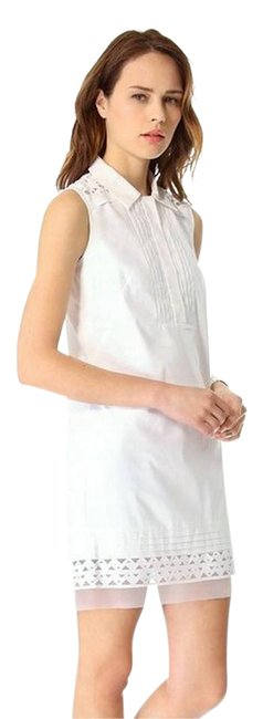 Preload https://img-static.tradesy.com/item/21749329/milly-white-callie-short-night-out-dress-size-4-s-0-1-650-650.jpg
