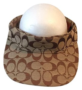 2eb06a2a754 Brown Coach Hats - Up to 70% off at Tradesy