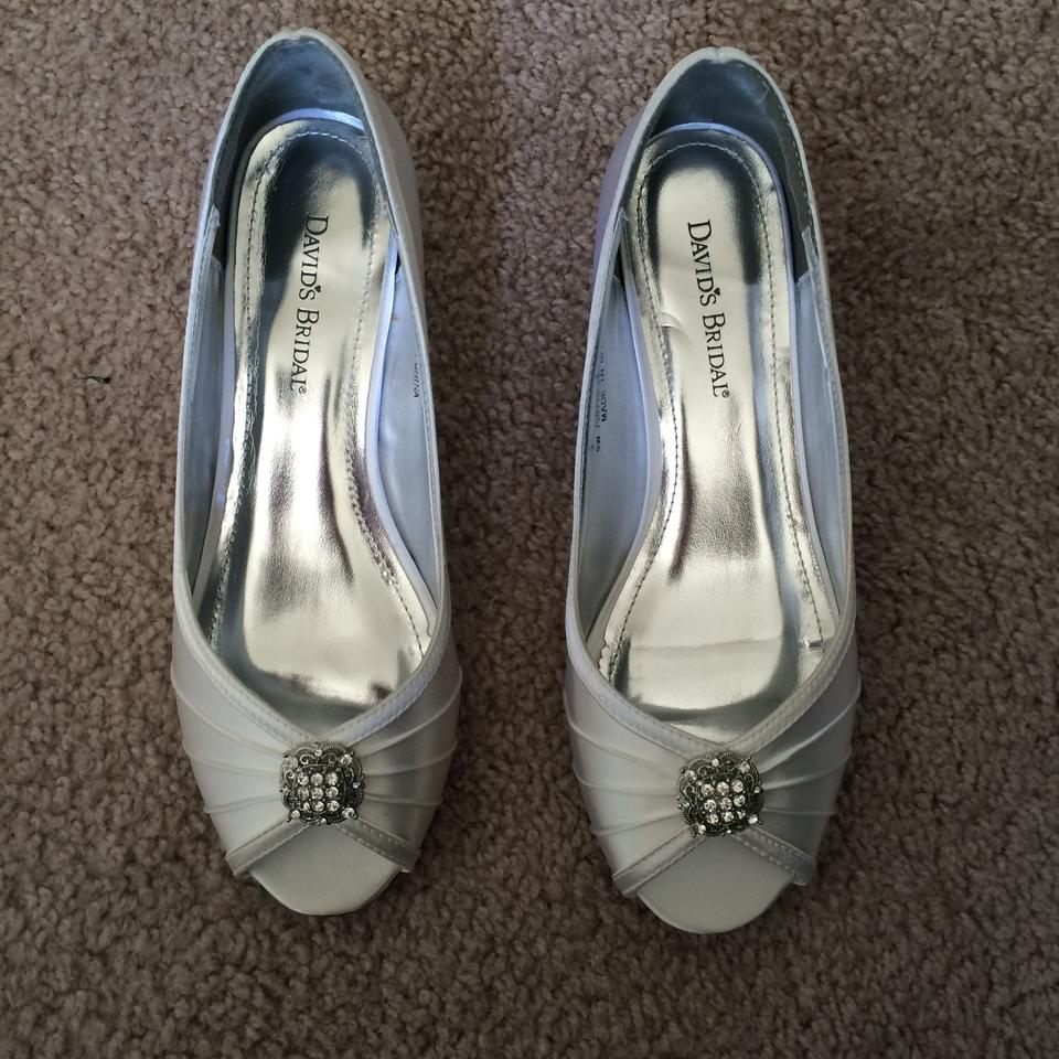David's Bridal Bridal Ivory Wedges David's Bridal David's Ivory Wedges Ivory qpAI7Axt