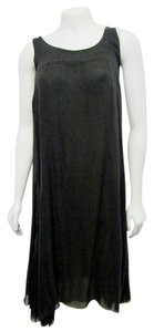 Kristensen Du Nord Silk Sheere\tank Shift Small Dress