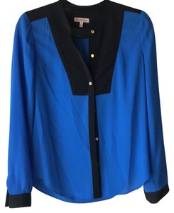Juicy Couture Top Blue And Black