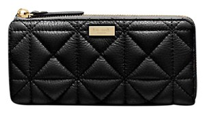 Kate Spade NWT Kate Spade Gold Coast Quilted Nisha Wallet Black Gorgeous!