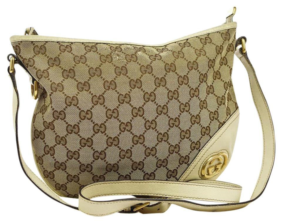 353db5a459ea Gucci Hobo Shoulder Equestrian Horse-bit Bold Gold Accents Xl Style Perfect  For ...