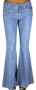 Stella McCartney Flare Leg Jeans-Light Wash