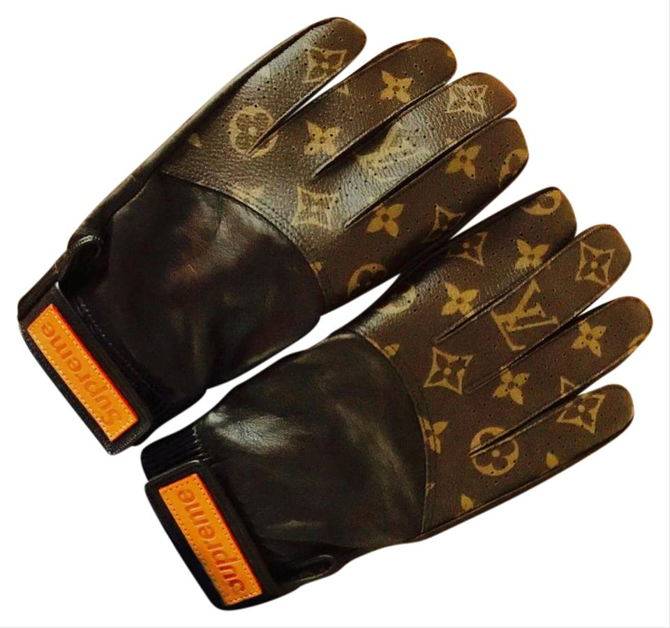 Louis Vuitton X Supreme Baseball Gloves Image 0