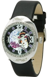 Ed Hardy Ed Hardy Female Dress Watch SV-BK Black Analog