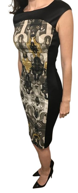Item - Black/Brown Black/Brown Mid-length Formal Dress Size 2 (XS)
