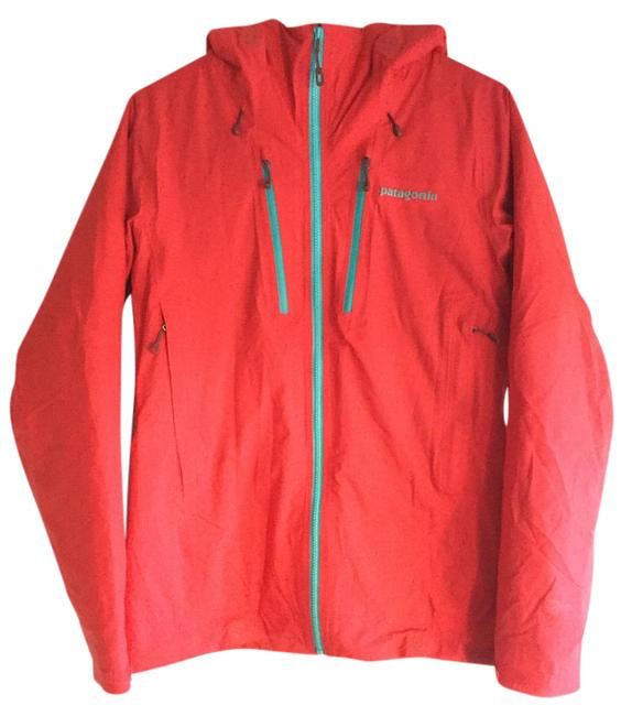 Item - French Red with Mogul Blue Nano Storm Jacket Size 4 (S)