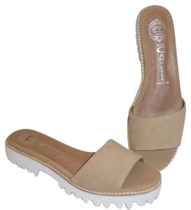 Jeffrey Campbell tan Sandals