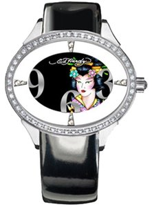 Ed Hardy Ed Hardy Female Fashion Watch SG-GA Black Analog