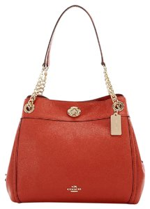Coach Edie Turnlock 36855 Shoulder Bag